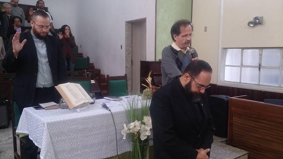 Culto de posse do pastor titular para o triênio 2017-2020