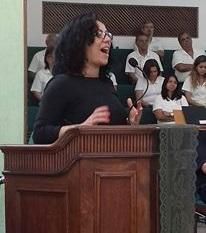 Defesa de tese de doutorado da Revdª. Cleusa Caldeira